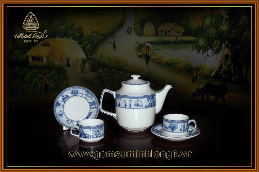 Bộ trà 0.7L Jas Thôn dã 01071117903