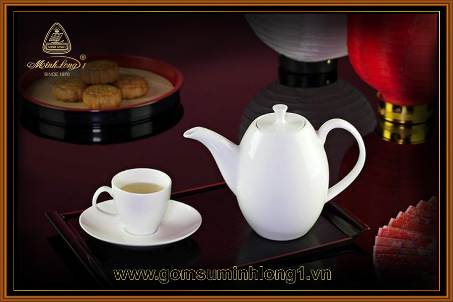 Bộ trà 0.47L Cao Anna Trắng Ngà 68470300003