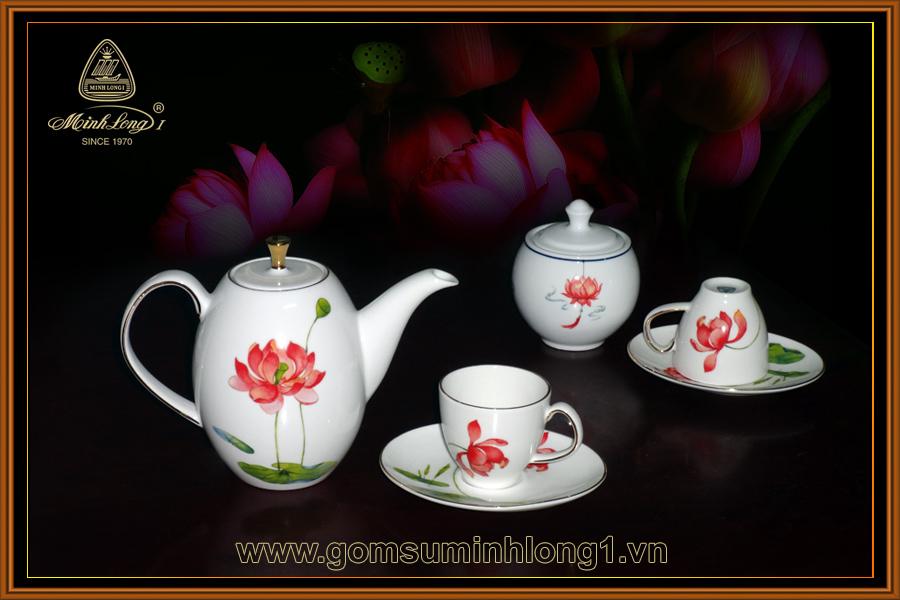 Bộ trà cao 0.47L Anna Hương Sen 68470342103