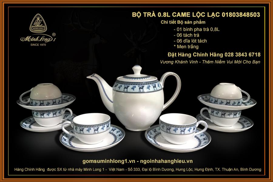 Bộ trà 0.8L Came Lộc Lạc 01803848503