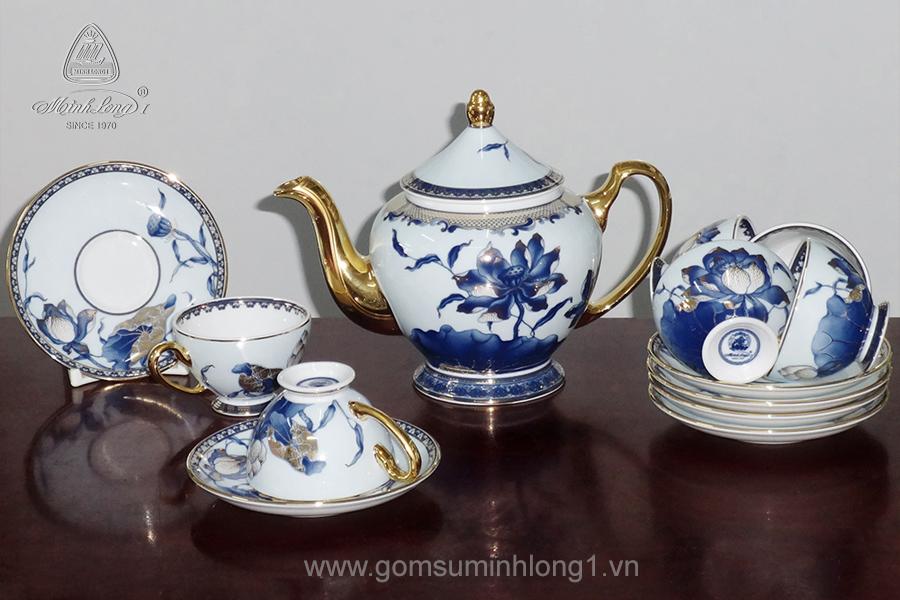 Bộ trà 0.8L Sen Ngọc 01084045603